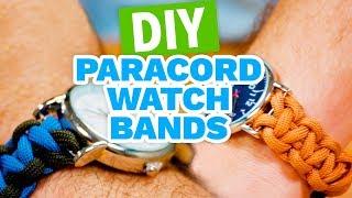 DIY Paracord Watch Band - HGTV Handmade