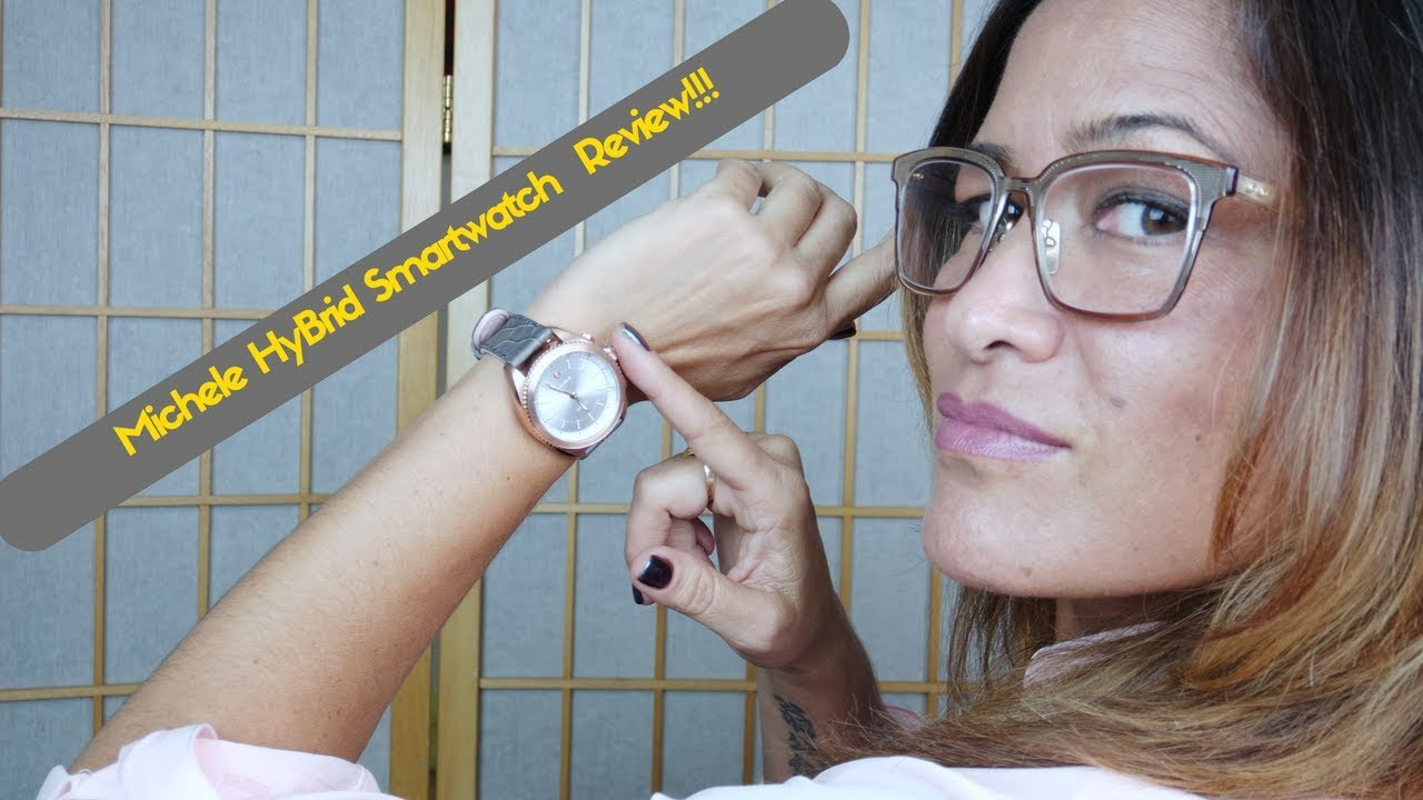 7b93cbd9325a Michele Hybrid Smatwatch Review  Style   Tech! - YouTube