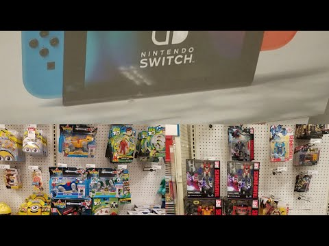 Target And Walmart Toy Hunt: Hunting For Nintendo Switch, Found Classic Voltron, And More