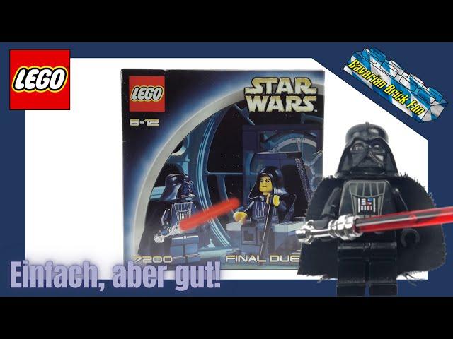 LEGO Star Wars 7200 - Final Duel 1 aus 2002! | Review deutsch