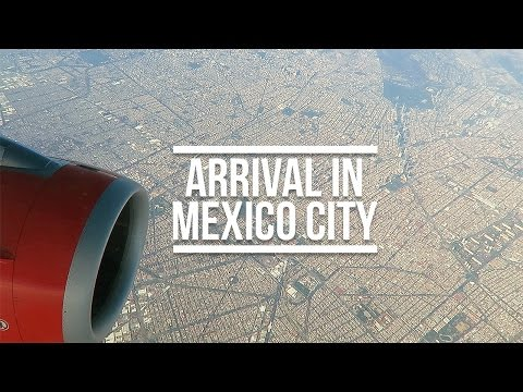 ARRIVAL IN MEXICO CITY (TRAVEL VLOG) | Eileen Aldis