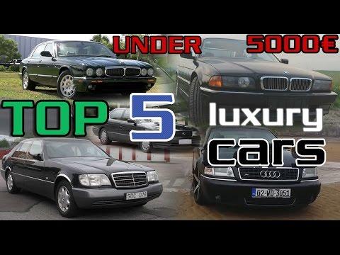 Top 5 BEST luxury cars UNDER 5000€ / 5690$