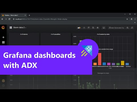 Visualize data from Azure Data Explorer using Grafana