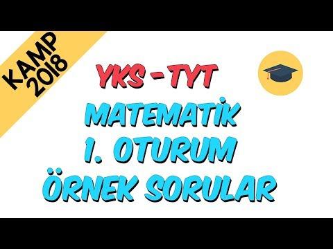 ÖSYM Örnek Sorular - Matematik | Kamp2018