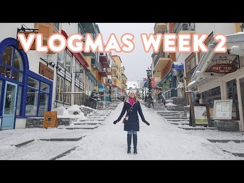 What I Eat in a Day Montreal Couples Ski Trip | VLOGMAS