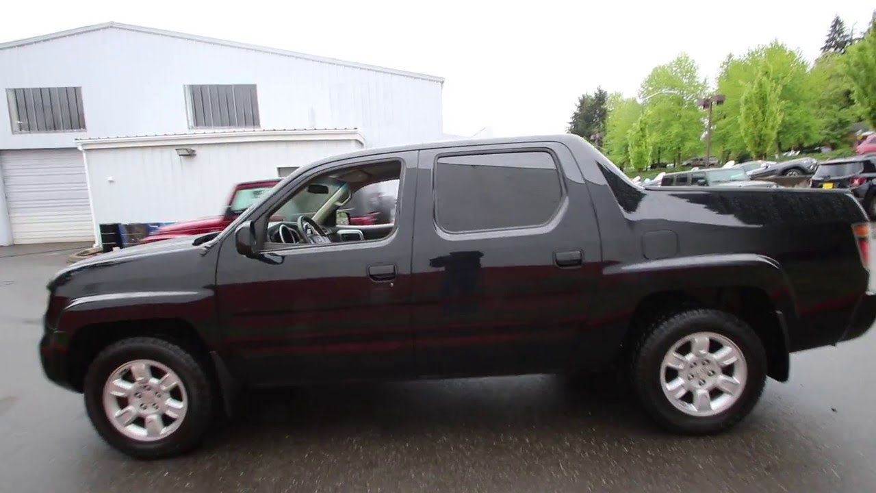 Amazing 2006 Honda Ridgeline RTS | Nighthawk Black Pearl | 6H558565 | Redmond |  Seattle |   YouTube