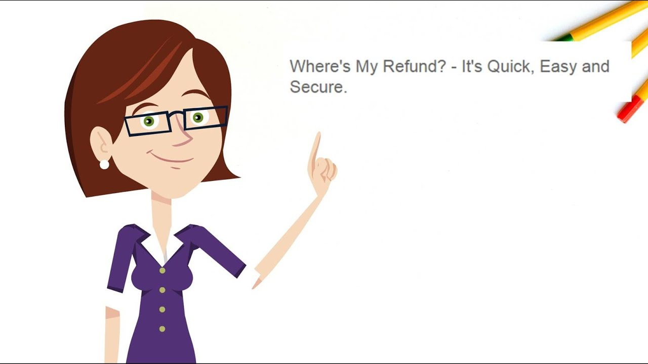 Information about refunds associated with filing taxes Status of a return is usually available within 24 hours after the IRS has received an efiled