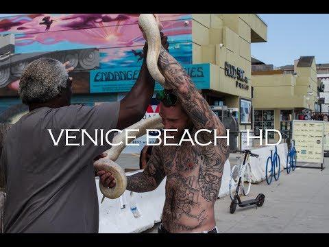 Walk around Venice Beach - HD 1080P