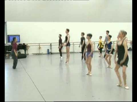 Scottish Ballet: Webcast from Company class - 10th March 2011