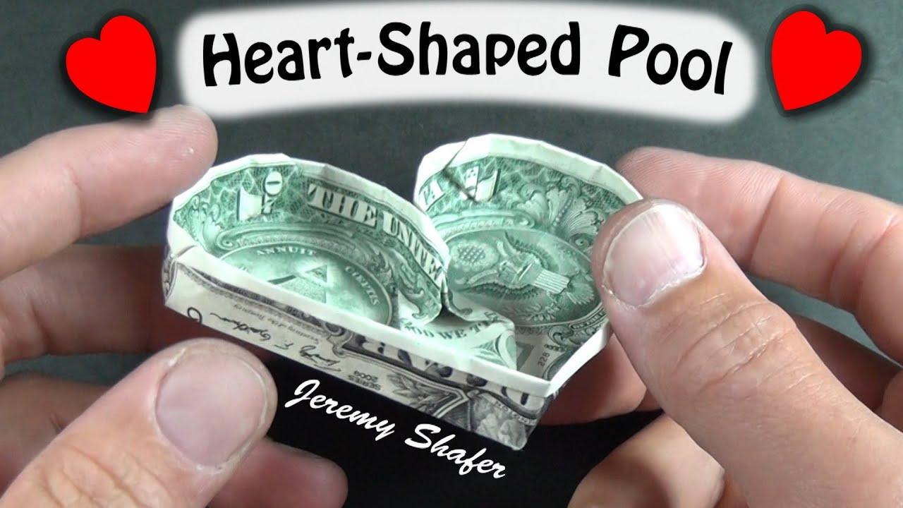 1 origami heart shaped pool youtube jeuxipadfo Images