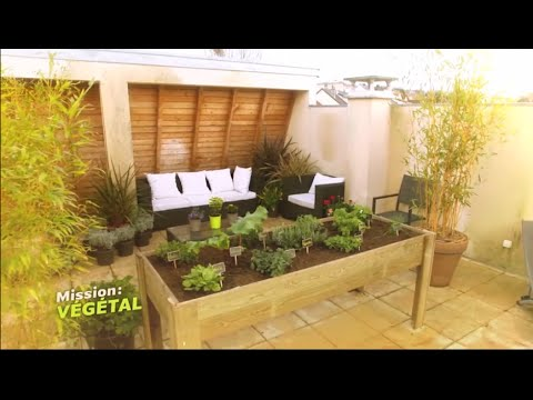 cultiver un carr potager sur sa terrasse mission v g tal m6 youtube. Black Bedroom Furniture Sets. Home Design Ideas