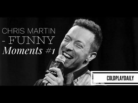 Chris Martin - Funny Moments #1