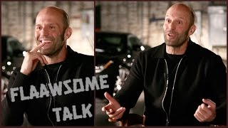 JASON STATHAM on SCREAMING in the gym, and how many push-ups he can do