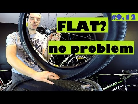 BEST way to fix a flat tire on bicycle - how to fix inner tube or tubeless tire.