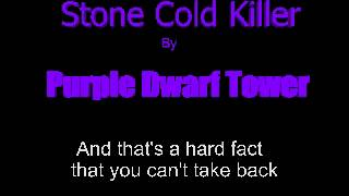 Download Purple Dwarf Tower: Stone Cold Killer (original rock song about gambling, murder, and fugitives) MP3 song and Music Video