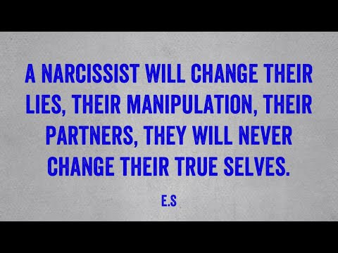 A back will narcissist always come Narcissists and