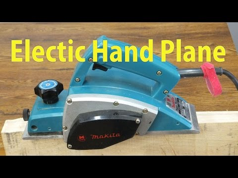 Using an Electric Hand Plane - Beginners #24