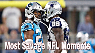Most Savage NFL Moments Of All Time