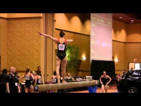 Sydnie Dillard Kurt Thomas Finals 10.0 Balance Beam 2012