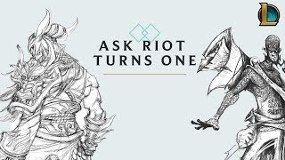 Ask Riot Turns One