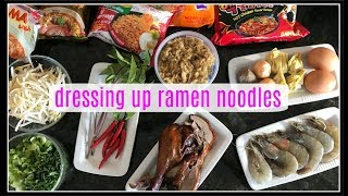 How to dress up RAMEN NOODLES | House of X Tia