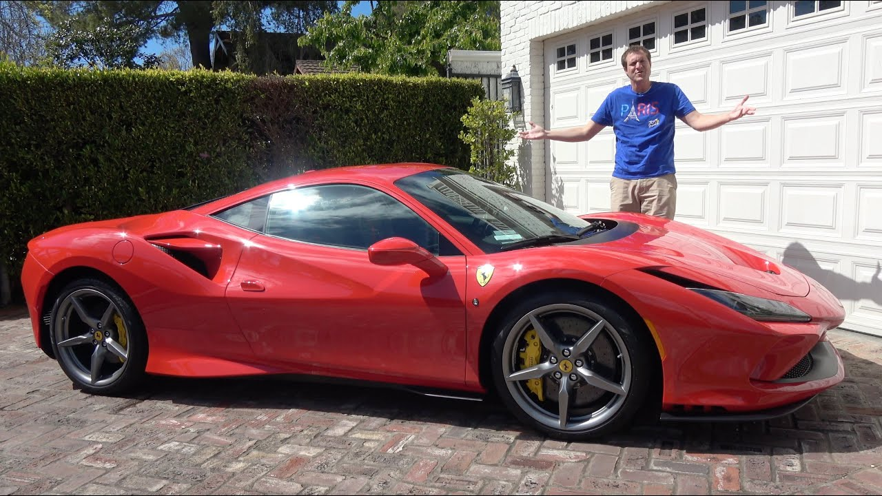 The 2020 Ferrari F8 Tributo Is The Newest 300 000 Ferrari Youtube