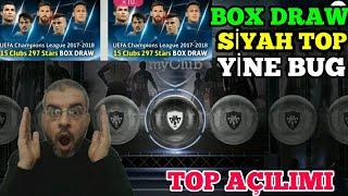 BOX DRAWDAN SİYAH TOP GELDİ PES 2018 MOBİLE TOP AÇILIMI