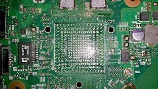 Jak rozebrać - Wymiana VGA BGA Toshiba L650 NIE REBALLING - Część 1