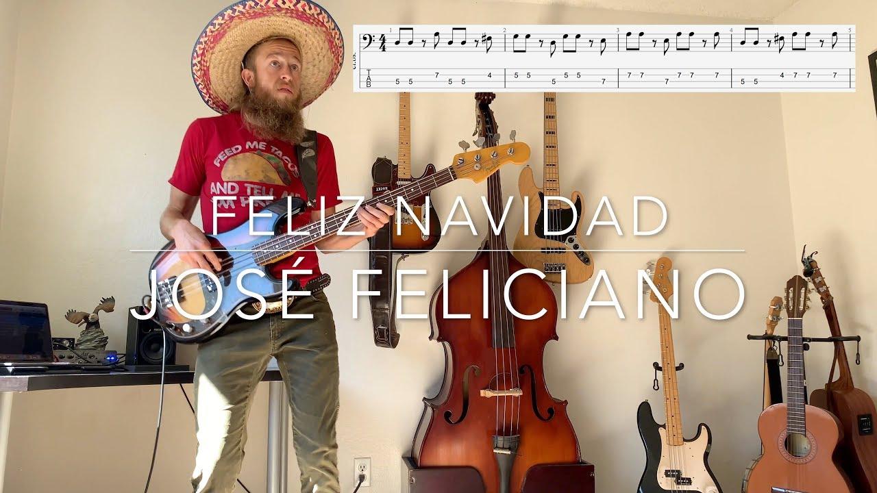 Mini Bass Lesson - Feliz Navidad - José Feliciano - Rusty Osborne