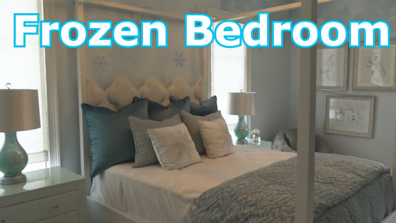 golden oak frozen themed bedroom walt disney world