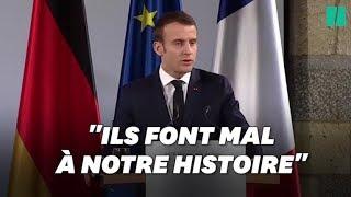 Baixar Emmanuel Macron condamne