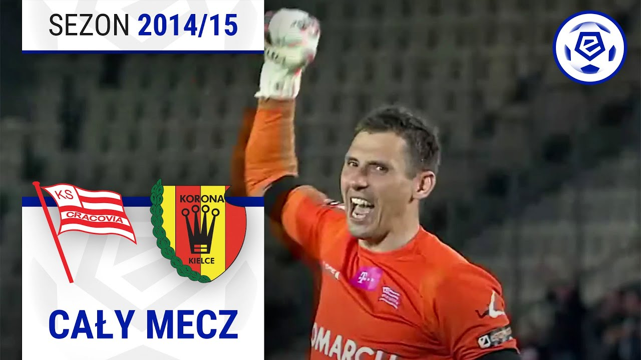 Cracovia - Korona Kielce [1. połowa] sezon 2014/15 kolejka 34 MyTub