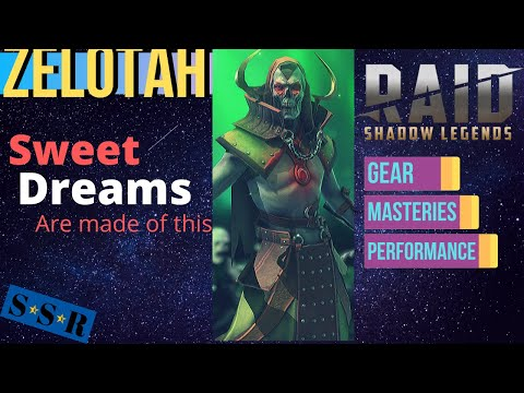 Zelotah rocks you to sleep. | Raid: Shadow Legends | Build Guide