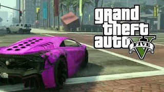 GTA 5 ONLINE - Corrida da Insanidade, com INSCRITOS e Deegan! (GTA V Online Gameplay)
