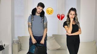 He had to leave....Saying Goodbye! | Ep 1 | Long Distance Relationship