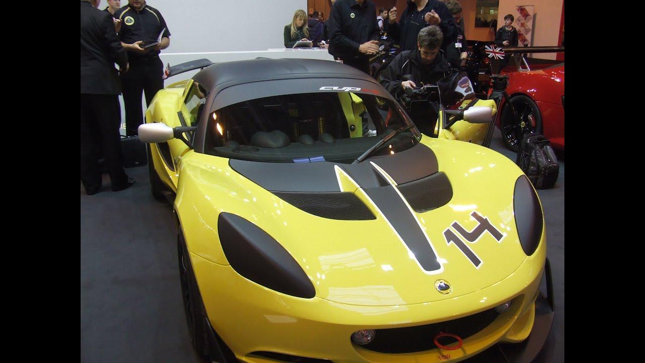 LOTUS   Elise S Cup R   Autosport International 2014 - YouTube