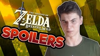 WARNING: Breath of the Wild Spoilers are EVERYWHERE