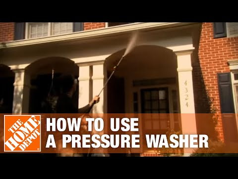 How To Use a Pressure Washer - The Home Depot