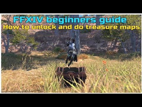 FFXIV Beginners Guide How To Unlock And Do Treasure Maps