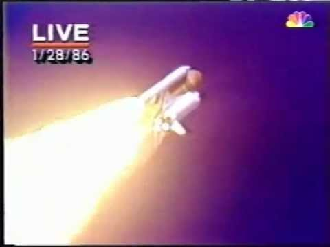 Space Shuttle Challenger Explosion LIVE TV YouTube