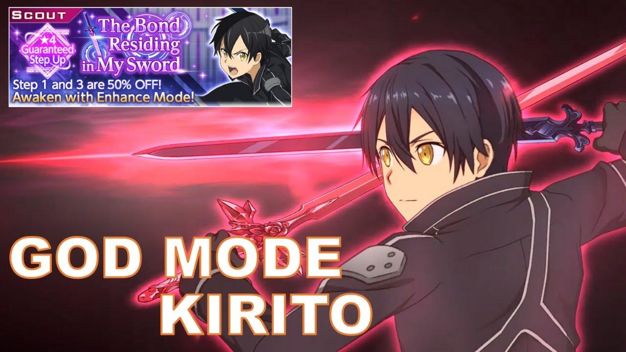 SAO Alicization Rising Steel: The Bond Residing in My Sword - God Mode Kirito Summons/Scout