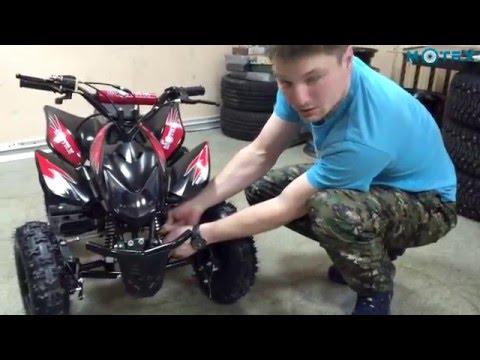Детальный обзор детского квадроцикла MOTAX ATV Х-15 в стиле Honda TRX | Обзор квадрцоикла Мотах