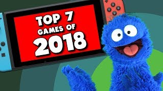 My Top(ish) 7 Games of 2018