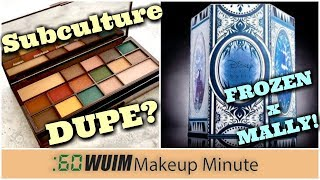 New ABH Subculture Dupe by Makeup Revolution? Disney Frozen x Mally Beauty!  | Makeup Minute