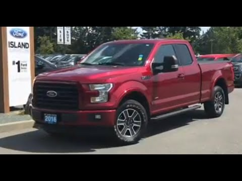 2016 Ford F-150 XLT 302A 2.7L SuperCrew Review| Island Ford