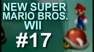 Lets Play New Super Mario Bros. Wii #17 (German) - Scrollingkacke