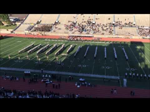 Permian Band first home pregame 2016