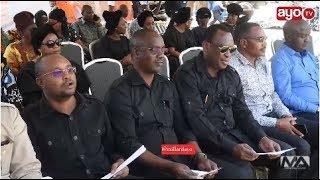 Mbowe, Mwamunyange, Sugu Na Viongozi Wa CHADEMA Msibani Kwakina Prof. J