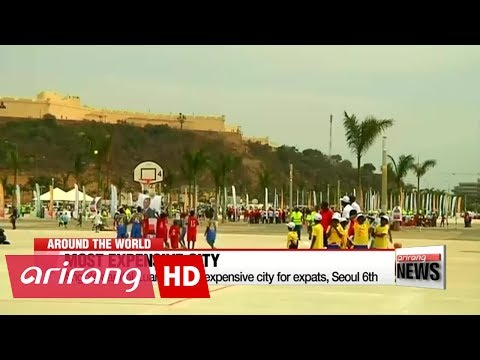 Angola's capital world's most expensive city for expats, Seoul 6th