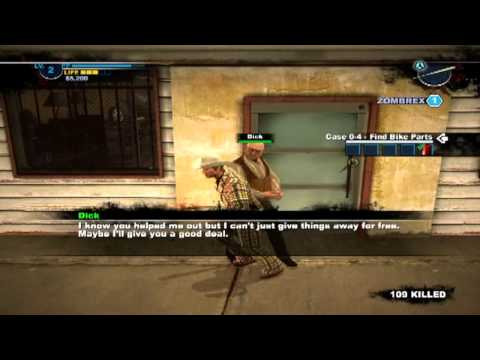 Dead Rising 2: Case Zero   All Bike Part Locations Step By Step   Voice Tut  